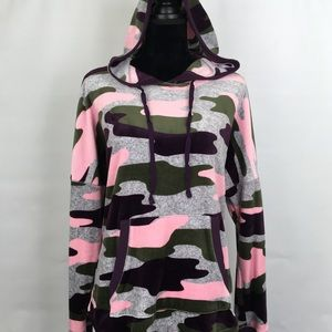 Simply Vera Vera Wang Fleece Pullover Hoodie XL